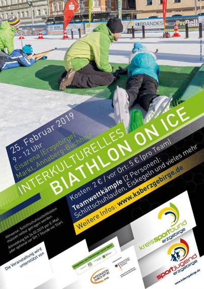 Interkulturelles Biathlon on Ice