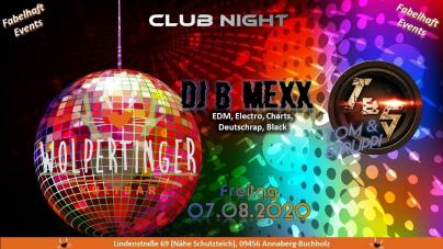 Club Night mit Tom & Struppi feat. DJ B-Mexx (Doppeldecker)
