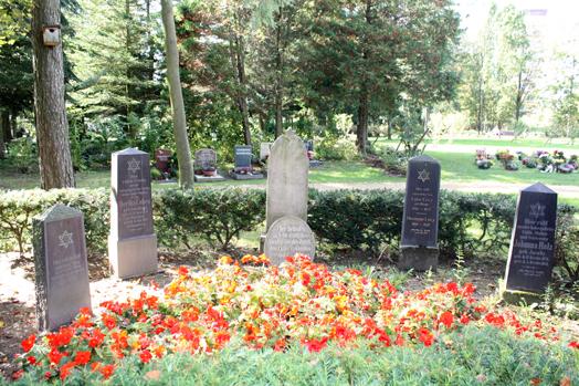 Jüdischer Ehrenhain auf dem Friedhof